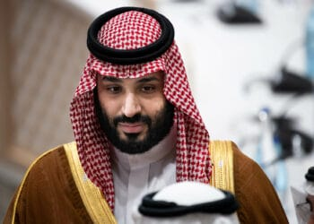 29 June 2019, Japan, Osaka: Mohammed bin Salman bin Abdelasis al-Saud, Crown Prince of Saudi Arabia, will attend the third working session of the G20 summit. The heads of state and government of the 19 leading industrialised and emerging countries and the European Union will meet at the G20 summit in Osaka (Japan) on 28 and 29 June 2019. Photo: Bernd von Jutrczenka/dpa (Photo by Bernd von Jutrczenka/picture alliance via Getty Images)