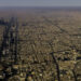 """CITY OF RIYADH, SAUDIA ARABIA - DECEMBER 4, 2017: aerial view of Riyadh (which means in Arabic """"gardens""""), the capital of the kingdom of Saudi Arabia in the homonymous province. It has more than six million inhabitants.(Photo by Reza/Getty Images)"""
