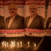 ISTANBUL, TURKEY - OCTOBER 25:  Candles are seen in front of posters of Jamal Khashoggi during a candle light vigil held to remember journalist Jamal Khashoggi outside the Saudi Arabia consulate on October 25, 2018 in Istanbul, Turkey. Jamal Khashoggi, a U.S. resident and critic of the Saudi regime, went missing after entering the Saudi Arabian consulate in Istanbul on October 2. More than two weeks later Riyadh announced he had been killed accidentally during an altercation with Saudi consulate officials, however as investigations continue new information surfaced, pointing to a brutal and planned murder contradicting previous claims.  (Photo by Chris McGrath/Getty Images)
