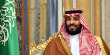 """Saudi Arabia's Crown Prince Mohammed bin Salman attends a meeting with the US secretary of state in Jeddah, Saudi Arabia, on September 18, 2019. - US Secretary of State Mike Pompeo denounced strikes on Saudi Arabia's oil infrastructure as an """"act of war"""", as Riyadh unveiled new evidence it said showed the assault was """"unquestionably"""" sponsored by arch-foe Iran. (Photo by MANDEL NGAN / POOL / AFP)        (Photo credit should read MANDEL NGAN/AFP via Getty Images)"""
